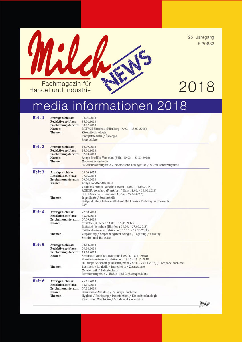 MilchNews Media 2018